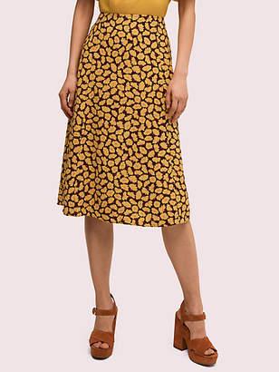 Kate Spade Sunny Bloom Midi Skirt
