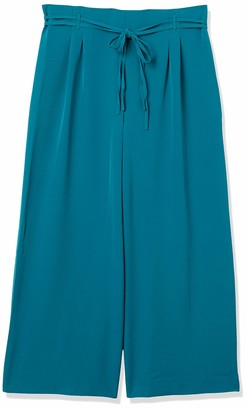 Forever 21 Women's Plus Size Belted Wide-Leg Pants