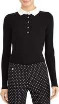 Lauren Ralph Lauren Collared Button-Down Sweater
