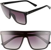 Quay x Chrissy Teigen Night Fall 52mm Gradient Flat Top Sunglasses