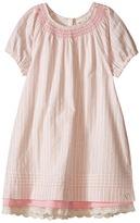 Hatley Sugar Pink Pintuck Dress (Toddler/Little Kids/Big Kids)