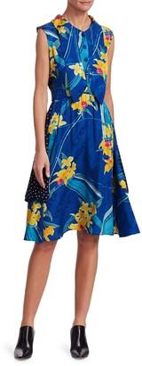 Vetements Printed Double Dress