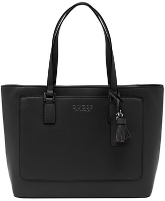 GUESS AA701425BLA Thornhill Double Handle Tote Bag