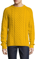 Wesc Men's Wool Cable Knit Sweater