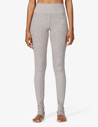Alo Yoga Goddess Airbrush high-rise stretch-woven leggings