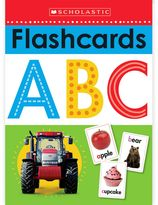 Scholastic Write and Wipe Flashcards ABC
