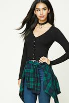 Forever 21 FOREVER 21+ Ruffled Crop Top