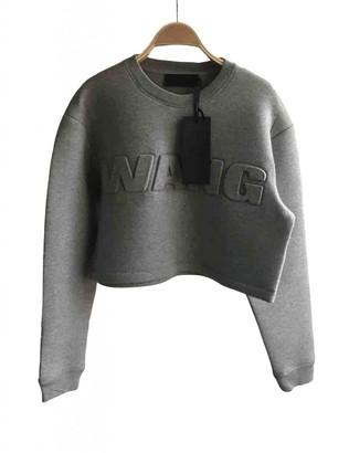 Alexander Wang Pour H&m Grey Cotton Top for Women