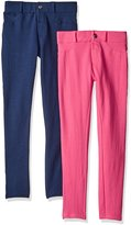 Limited Too Girls' Little Girls' 2 Pack: Stretch French Terry Moleton Pants