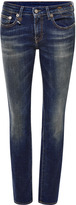 R 13 Kate Low Rise Skinny Jeans