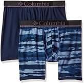 Columbia Men's Diamond Mesh 2 PK Boxer Brief-Camo Print