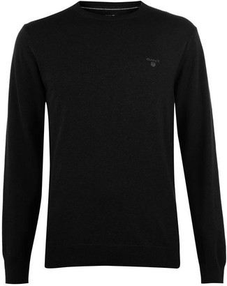 Gant Cotton Crew Neck Jumper