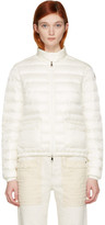 Moncler Ivory Down Lans Jacket