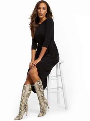 New York & Co. Tall T-Shirt Maxi Dress