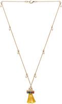 Anton Heunis Tassel Pendant Necklace