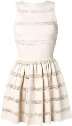 Alaïa Pre Owned 2000's Lace Detail Dress