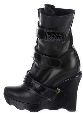 28d7b03e7079 Louis Vuitton Black Women s Boots - ShopStyle