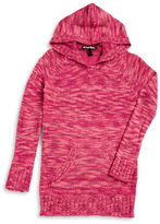 Planet Gold Girls 7-16 Hooded Knit Sweater