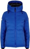 Canada Goose Camp Hoody PBI blue padded ripstop jacket