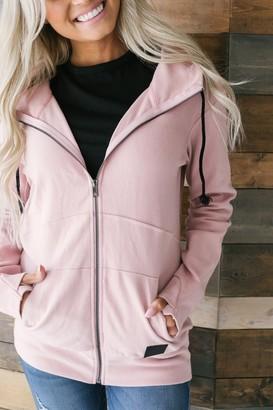 Ampersand Avenue FullZip Hoodie - Pink