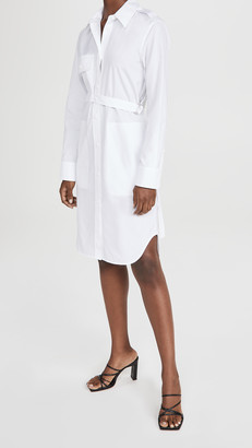 Helmut Lang Strap Shirtdress