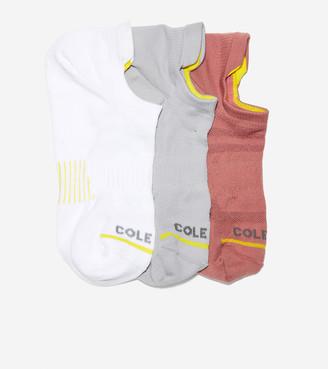 Cole Haan ZERGRAND 3-Pair Liner Socks
