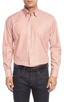 Robert Talbott Men's 'Anderson' Classic Fit Gingham Sport Shirt