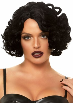 Leg Avenue Women's Pastel Curly Bob Wig