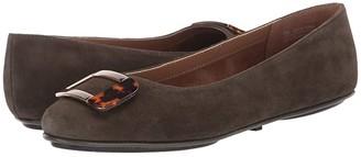 Aerosoles Sensational (Black Leather) Women's Flat Shoes