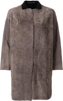 Salvatore Santoro panelled dropped shoulder coat