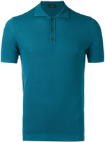 Zanone short sleeve polo shirt - men - Cotton - 46