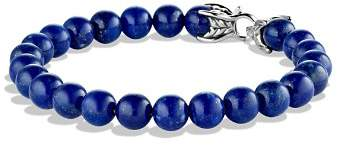 David Yurman Spiritual Beads Bracelet with Lapis Lazuli, 8mm