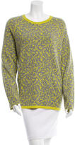 Halston Two-Tone Pattern Sweater w/ Tags