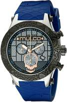 Mulco Men's MW5-2331-044 Couture Analog Display Swiss Quartz Blue Watch