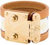 Louis Vuitton Suhali Monogram Bracelet