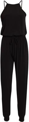 Lanston Halter Jersey Jumpsuit