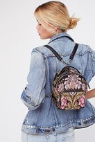Brocade Floral Mini Backpack by Shellys London at Free People