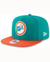 New Era Miami Dolphins Sideline Classic 9FIFTY Snapback Cap