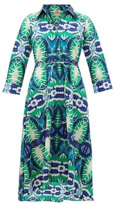 Le Sirenuse Positano Le Sirenuse, Positano - Lucy Printed Cotton Dress - Green Print