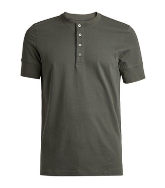 Tom Ford Cotton Henley T-Shirt