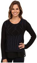 Brigitte Bailey Courteous Textured Knit Sweater