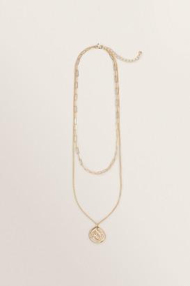 Seed Heritage Double Chain Pendant