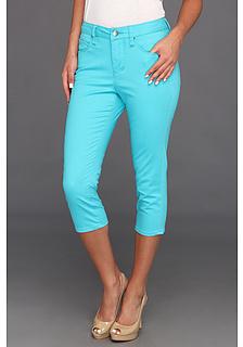 Jag Jeans Chloe Skinny Capri Solid Sanded Twill