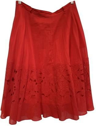Hobbs \N Red Cotton Skirt for Women