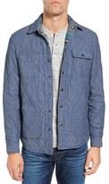 Faherty Reversible Shirt Jacket
