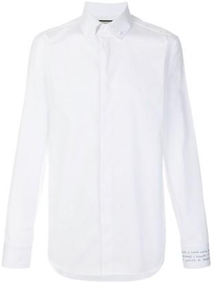 Gucci Embroidered Cuff Shirt