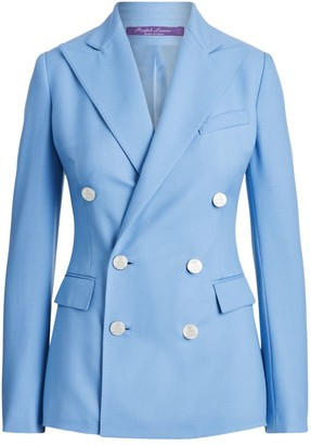 Ralph Lauren Camden Cashmere Double-Breasted Jacket
