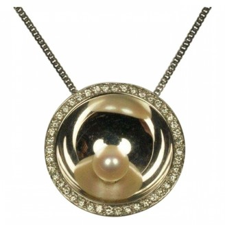 Dinh Van Silver White gold Necklaces