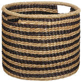 John Lewis Fusion Striped Seagrass Basket