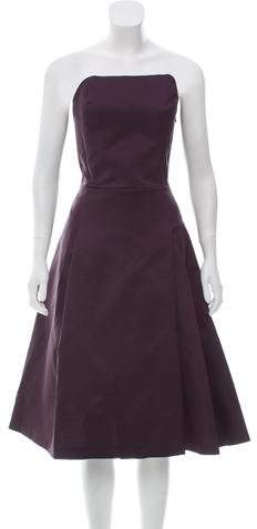 A.F.Vandevorst A.F. Vandevorst Gathered Strapless Dress w/ Tags